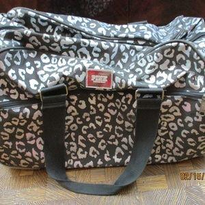 Victoria Secret PINK GRAY Wheelie Suitcase Luggage